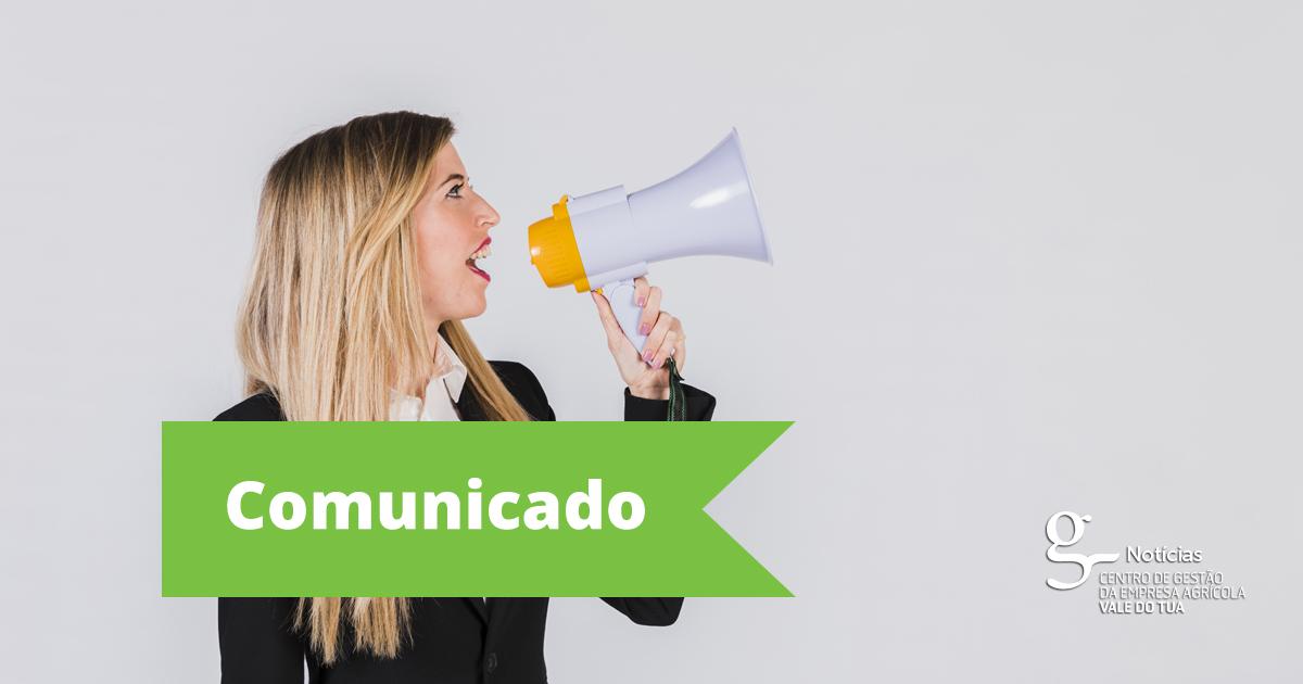 COMUNICADO A SÓCIOS/CLIENTES DO CGEAVT